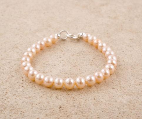 Pink Freshwater Pearl Bracelet